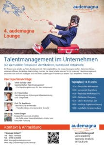 Talentmanagement Flyer
