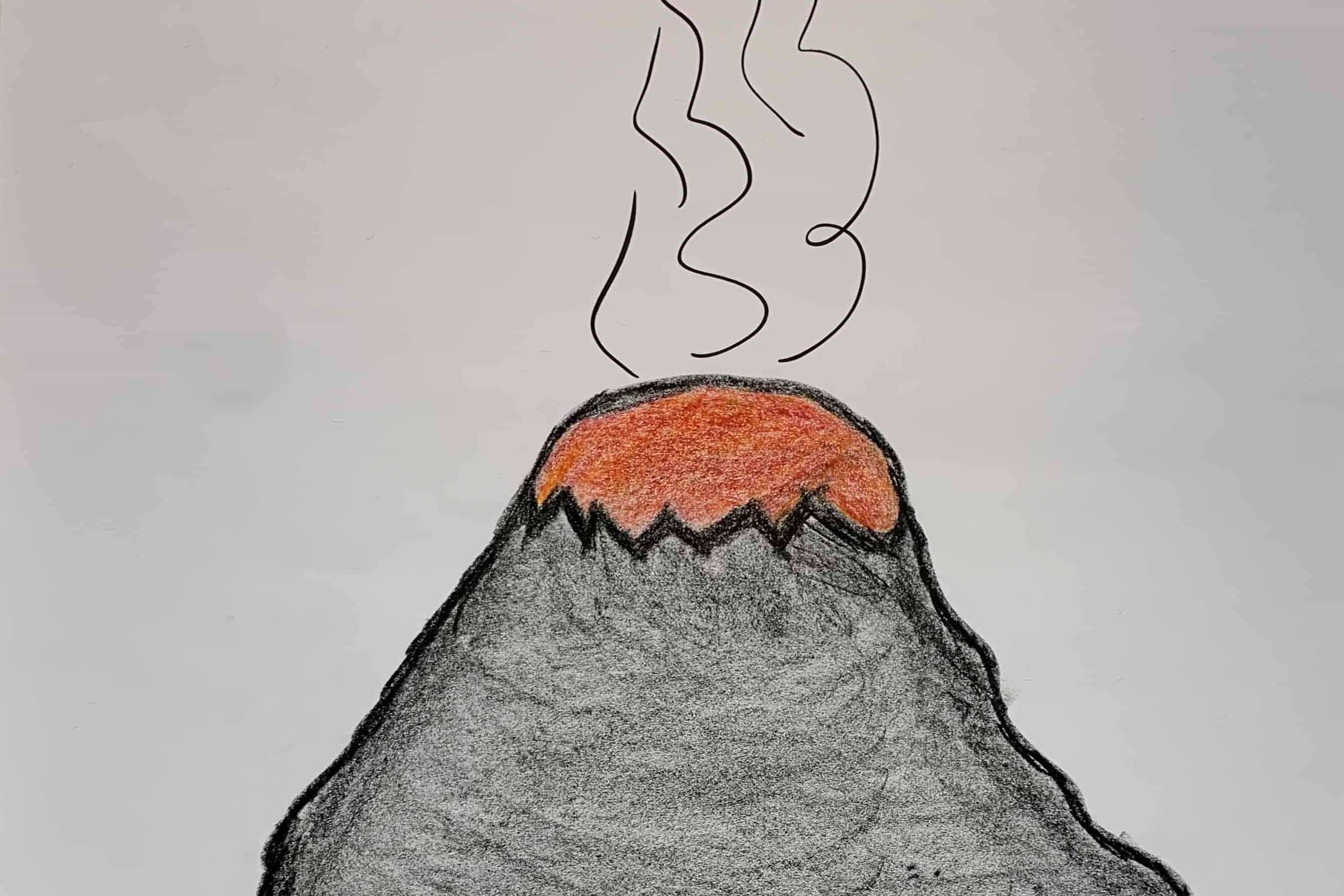 Energie aus Konflikten Vulkan